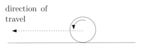 motion in a straight line